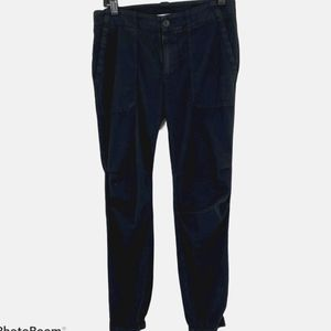 James Perse Zip Fly Jogger Ankle Pants